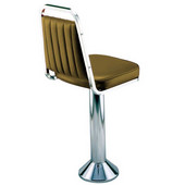 Richardson Retro Swivel Kitchen Counter Stool with Steel Frame and Grade 3 Vinyl Finishes