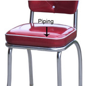 Box Seat Type with Piping