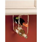 Rev-A-Shelf Double Bottle Wine Rack for Fitting Under Cabinet or Shelf, 2 Bottle Capacity, Brass