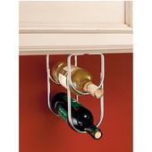 Rev-A-Shelf Double Bottle Wine Rack for Fitting Under Cabinet or Shelf, 2 Bottle Capacity, Chrome