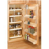 Rev-A-Shelf Wood Storage Tray For Your Cabinet Door, 11'' - 20'' Widths Available