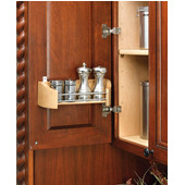 Rev-A-Shelf Wood Storage Tray For Your Cabinet Door, Single Tray, 11'' - 20'' Widths Available