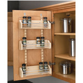 Rev-A-Shelf Adjustable Door Mount Spice Rack, Different Sizes Available
