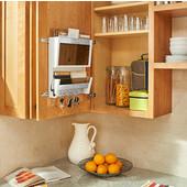 Rev-A-Shelf Door Storage Mail Organizer in Natural Maple, 13-1/2''W x 3-9/16''D x 15''H, Min Cab Opening: 14-1/2''W x 3-3/4''D x 15-1/4''H