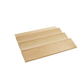 Rev-A-Shelf Wood Spice Kitchen Drawer Insert, Maple, for Base Cabinet 24'' or Smaller