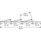 Rev-A-Shelf Wood Spice Kitchen Drawer Insert, Maple, for Base Cabinet 18'' or Smaller