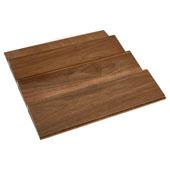 Rev-A-Shelf Wood Spice Kitchen Drawer Insert, Walnut, for Base Cabinet 18'' or Smaller