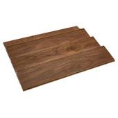 Rev-A-Shelf Wood Spice Kitchen Drawer Insert, Walnut, for Base Cabinet 24'' or Smaller