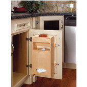 Rev-A-Shelf Door Mount Plastic Bag Holder for Kitchen Sink Base Cabinet, Numerous Sizes Available
