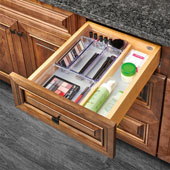 Rev-A-Shelf Single Vanity Drawer for 18'' Frameless Cabinet, 16-1/2''W x 18-11/16''D x 4-5/16''H