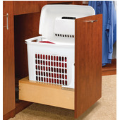 Rev-A-Shelf ''Rev-A-Motion™'' Pull-Out Laundry Hamper with Lid for Bathroom Vanity or Closet