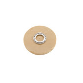 Rev-A-Shelf ''Wood Classic'' 22'' Diameter Full Circle Single Shelf Lazy Susan, Shelf Not Drilled