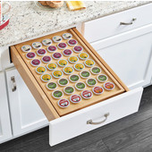 Rev-A-Shelf Two Tier Drawer with K-Cup Organizer, with Soft Close Slides, for Drawer Openings 15''W x 21-1/2''D x 4-1/2''