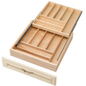 Rev-A-Shelf Two-Tiered Kitchen Cutlery Drawer for 24'' Cabinet