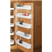 Rev-A-Shelf Five Shelf Kitchen Door Storage Set, Available in Various Options