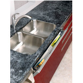 Rev-A-Shelf 25'' Slim Line Stainless Steel Tip-Out Tray Only