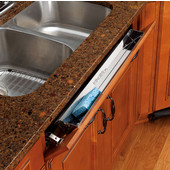 Rev-A-Shelf  25'' W Kitchen and Vanity Sink Front (Tip-Out) Stainless Steel Tray with Hinges