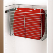 Rev-A-Shelf Closet or Kitchen Cabinet Heavy-Gauge Pull-Out Wire Basket, Chrome, 12''D x 18''H - Also Available in Other Sizes