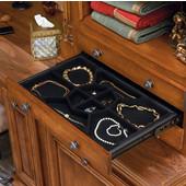 Rev-A-Shelf Jewelry Drawer with Slides 24'' W x 14'' D x 1-7/8'' H