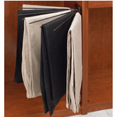 Rev-A-Shelf Closet Wire Fan Pant Rack for 9 Pairs, Oil Rubbed Bronze