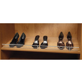 Rev-A-Shelf 17'' W Chrome Wire Shoe Rail in Chrome, Available in Multiple Sizes & Finishes
