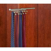 Rev-A-Shelf Closet Tie or Scarf Organizer, Satin Nickel, Other Depths Available