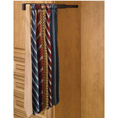 Rev-A-Shelf Telescopic Side Mount Tie Rack, Oil Rubbed Bronze, Multiple Depths Available