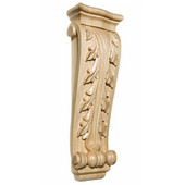 X-Large Acanthus Corbel, Maple