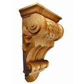 Imbricated Corbel, Available in Multiple Sizes and Wood Species