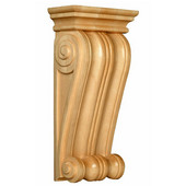 Classic Corbel, Available in Multiple Sizes and Wood Species