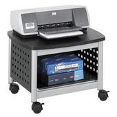 Scoot Underdesk Printer Stand, Black, 20-1/4''W x 16-1/2''D x 14-1/2''D