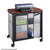 Impromptu Deluxe Mobile Machine Stand with Doors, Black, 34-3/4''W x 25-1/2''D x 30-3/4''H