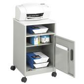 Compact Machine Stand, Gray, 17-1/4''W x 17-1/4''D x 27-1/4''H