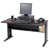 Computer Desk, Reversible Top, 47-1/2''W x 28''D x 30''H
