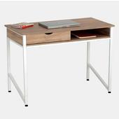 Single Drawer Office Desk, White, 43-1/4''W x 21-5/8''D x 30-3/4''H