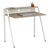 Writing Desk, White, 37-3/4''W x 22-3/4''D x 34-1/4''H