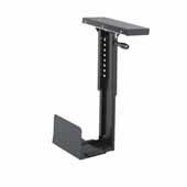 Ergo-Comfort® Swivel Mount CPU Holder, Black