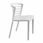 Entourage� Stack Chair, Gray, 19-1/2''W x 21-1/2''D x 30''H - Set of 4