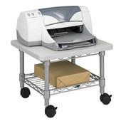 Underdesk Printer/Fax Stand, Gray, 19''W x 16''D x 13-1/2''H