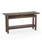 Sterling Sofa Table, Textured Brown Sugar Laminate, 58''W x 19''D x 30''H
