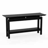Sterling Sofa Table, Textured Mocha Laminate, 58''W x 19''D x 30''H
