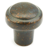 Mountain Collection 1-3/8'' Diameter Round Cabinet Knob in Verde Imperiale, 1-3/8'' Diameter x 1-3/8'' D x 5/8'' Base Diameter