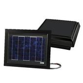 Solar Dynamics 1275 CFM Remote Mount for Curb Mount Solar Powered Attic Ventilator, Black Panel (Super Hawk), Black