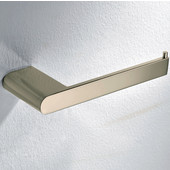 Toilet Roll Holder, Brushed Nickel Finish, 6-1/2'''W x 2-3/8''D x 3/4''H