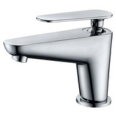 Single-Lever Lavatory Faucet, Chrome (Standard pull-up drain with lift rod D90 0010C included)