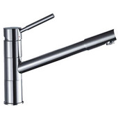 Dawn Sinks York 1 Hole Single-Lever Kitchen Faucet in Chrome Finish
