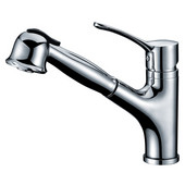 1 Hole Single-Lever Pull-Out Spray Kitchen Faucet, Chrome Finish
