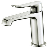 AB531495BN Single-Lever Lavatory Faucet, Brushed Nickel (Standard Pull-Up Drain With Lift Rod D90 0010Bn Included)