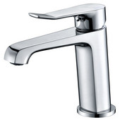 AB531495C Single-Lever Lavatory Faucet, Chrome (Standard Pull-Up Drain With Lift Rod D90 0010C Included)