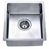 13-5/16''W x 14-7/8''D x 6-11/16''H, Undermount Single Bowl Bar Sink in Polished Satin Finish